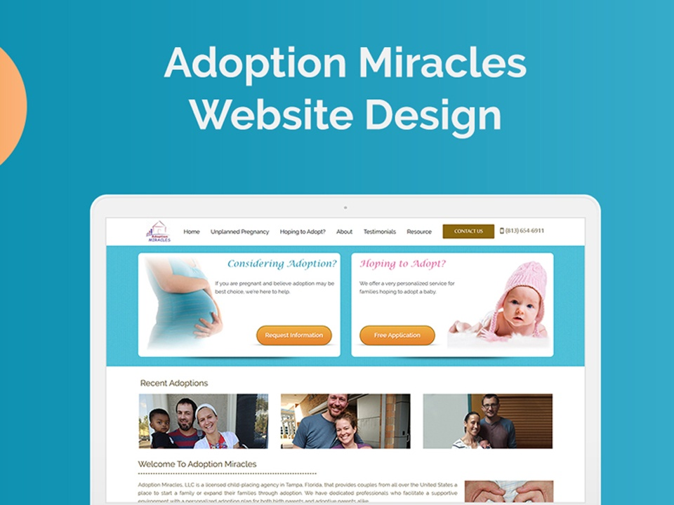 Case Study 3 – (www.adoptionmiracles.org)